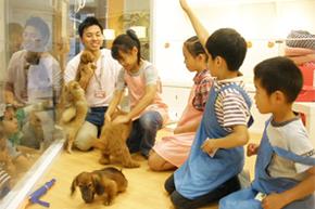 キッズ DOG トレーナー ~入門コース 写真提供:六本木ヒルズ