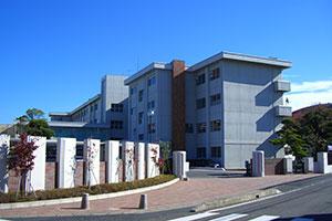 茨城県立日立第一高等学校附属中学校 校舎